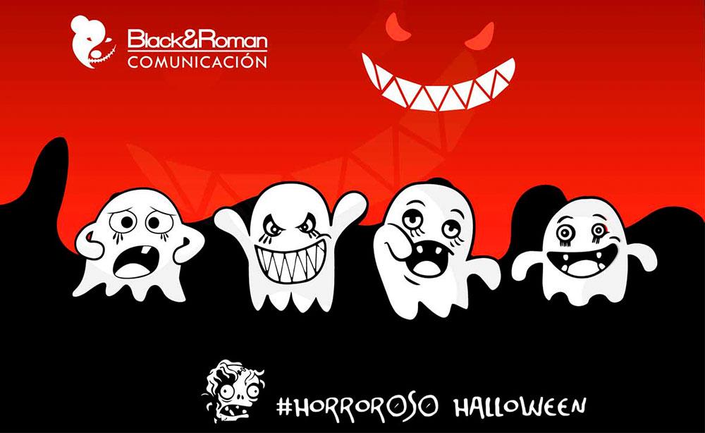 Campaña creativa para Halloween en Black&Roman comunicación
