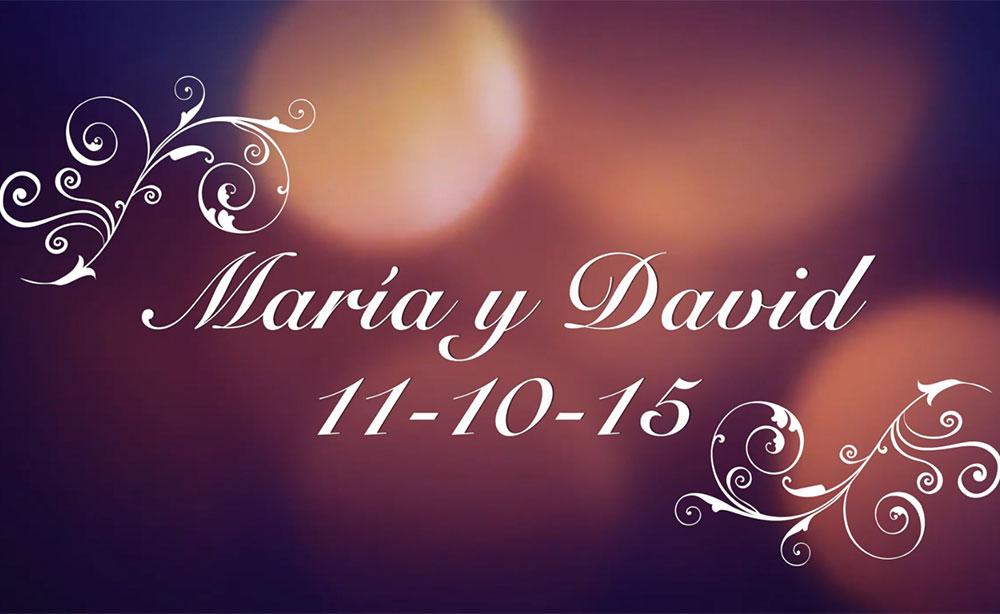 Reportaje de boda de María y David por Bea Oliva y Alex de Haro