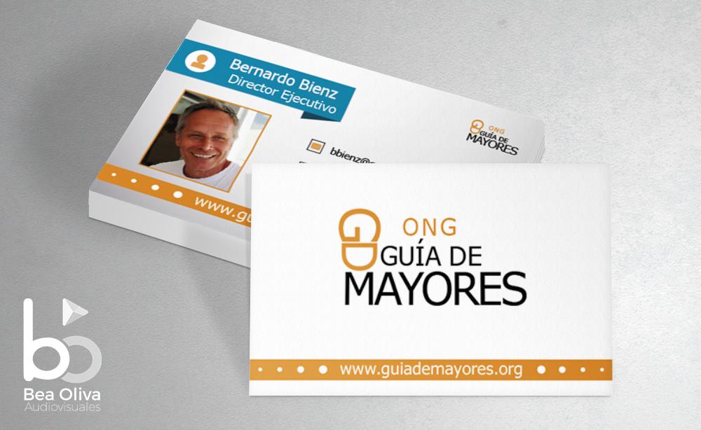 tarjeta de visita ONG